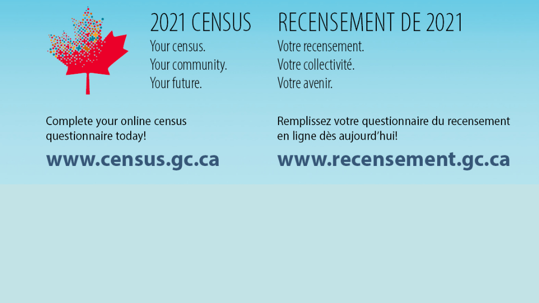 Complete Your 2021 Census Today!