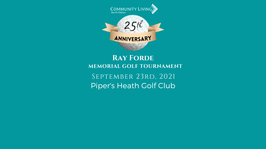 Join our 25th Anniversary Charity Golf Tournament!